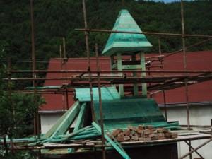 Rekonstrukce kaple horní žleb