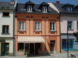 Rekonstrukce domu s pekárnou, Radniční 21 Šternberk